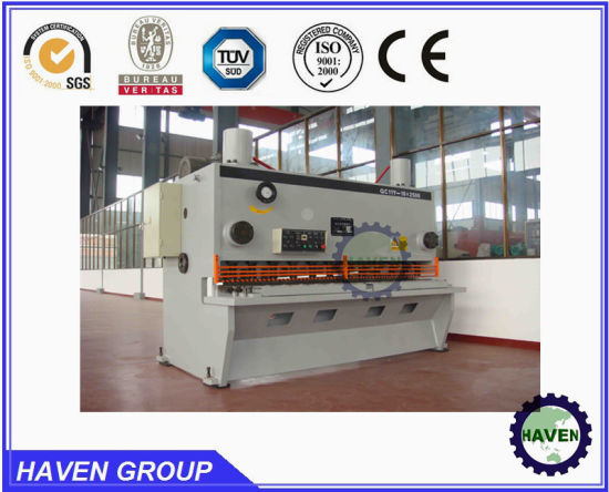 QC11Y-8X4000 Hydraulic Guillotine Shearing Machine, Steel Plate Cutting Machine pictures & photos