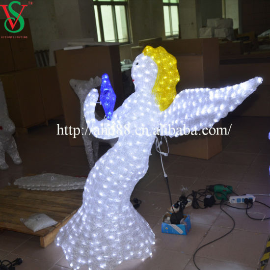 Christmas Light Angel for Christmas Decoration pictures & photos