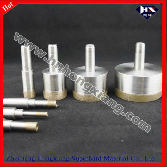 Sintered Diamond Drill Bit for Glass Cutting Drill Bit Hole Saw pictures & photos