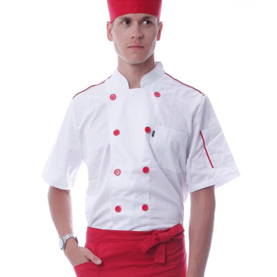7bb294320 OEM Polyester and Cotton Chef Coat Uniform, Kitchen Chef Uniform pictures &  photos