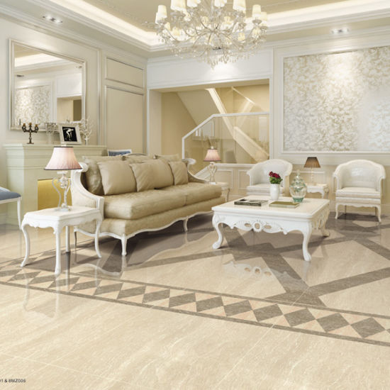 china best selling products white polished porcelain floor tile in