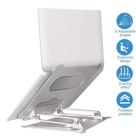 Adjustable Notebook Holder Aluminum Alloy MacBook Holder Laptop Stand
