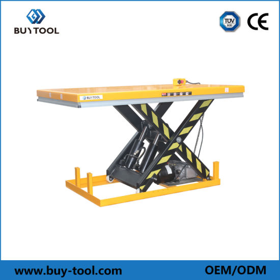 1~4ton Small in Ground Man Operated Lift Table