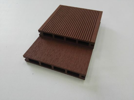 New Model WPC Wood Plastic Composite Decking Floor