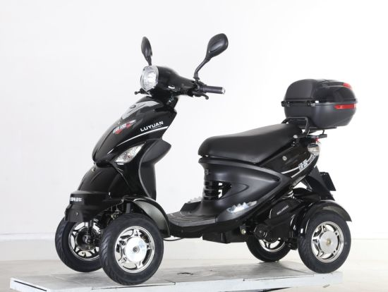 350W Electric Scooter with Four Wheels for Disabled People