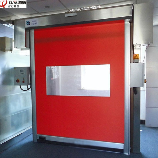 Industrial Stainless Steel Clean Room Automatic Fast Acting Door pictures & photos