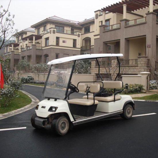 Mini 4 Seats Street Legal Electric Golf Car Ce