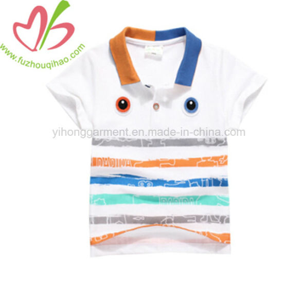 5353d163 China New Design Colorful Stripe Kids′ Polo T-Shirt - China Boy′s ...