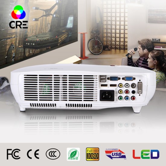 High Quality Multimedia Video LED Beamer Projectors pictures & photos