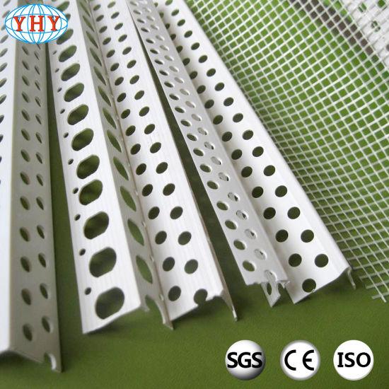 PVC Corner Beads with Fibergalss Mesh for Raked Render Angles
