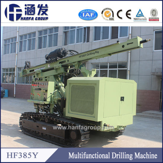 Hf385y Hydraulic Crawler DTH Drilling Rig pictures & photos
