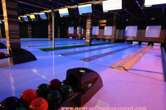 Fluorescence Bowling Alley Bowling Equipment