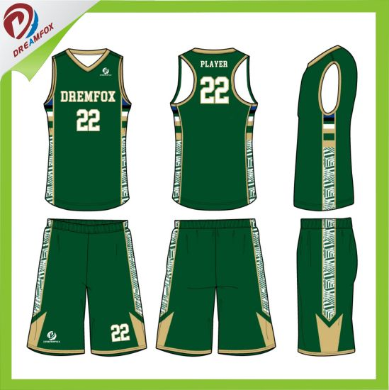 china customized sublimated wholesale youth women basketball uniform