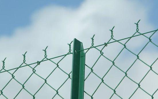 Galvanized Chain Link Fences Gym sport Garden Hotel House