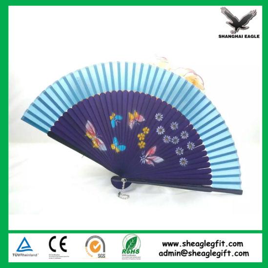 Wooden Panel Spanish Hand Fan Foldable Promotion Favor
