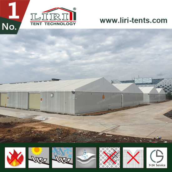 Wholesale Big Warehouse Insulated Structure Tent with Sandwich Roof pictures & photos