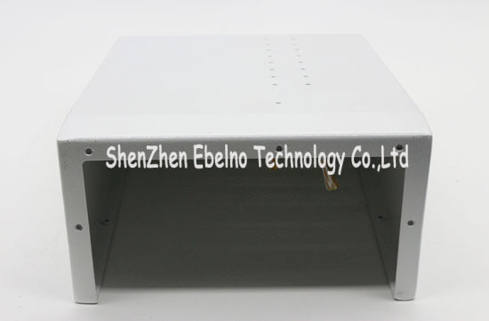 Precision Machining Bending Part Electro Galvantized Sheet with White Painting pictures & photos
