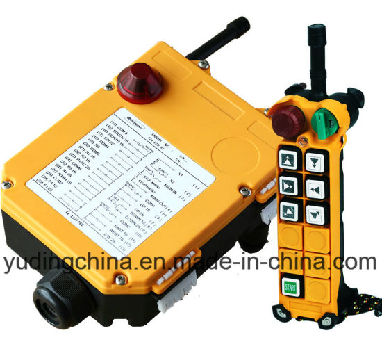 Industrial Wireless Remote Control for Crane F24-6D RF Transmitter and Receiver pictures & photos