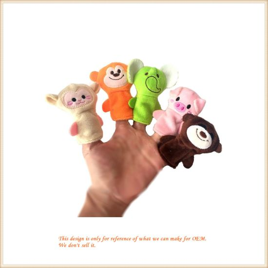Finger Puppets Soft Cloth Animal Doll Hand Toys Plush Toys