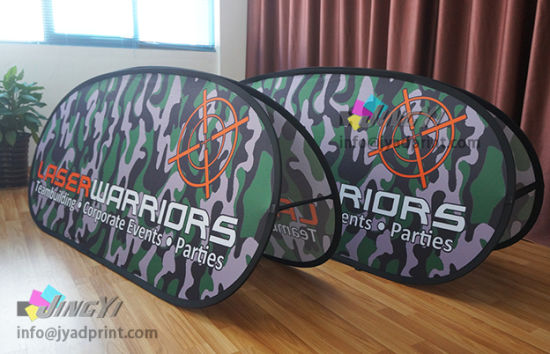 Top Quality Dye-sub Printing Outdoor Event Advertising Pop Out Banner