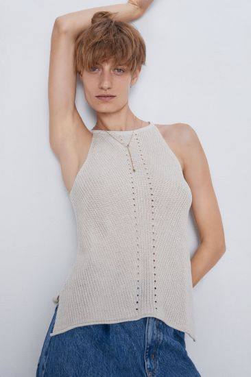 Women OEM Fashion Knitted Sexy Clothes Sweater