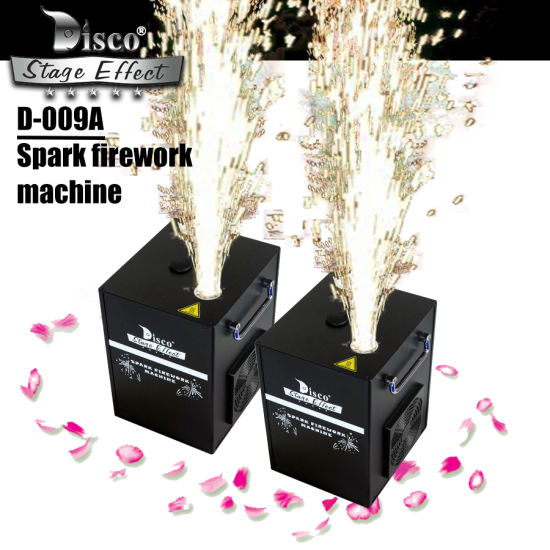 Wholesale Cold Spark Firework Fountain Machine with DMX & Remote Control Way