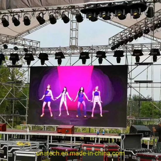 Indoor/Outdoor Rental/Fixed Pixel Pitch P2.6/P2.976/P3.91/P4.81/P5.95 High Resolution LED Advertising Media Digital Screen Display