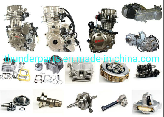 Quality Motorcycle Engine and Spare Parts for Cg150/Cg200/Cg250/Cg300/Scooter Gy6-125/150/70cc/90cc/110cc/125cc/200cc/250cc