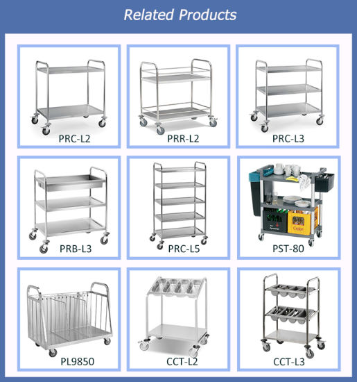Multi Tiers Factory Stainless Steel