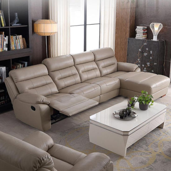 Black Leather Electric Recliner Cinema