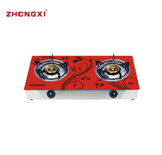 Bangladesh Hot Sell Tempered Glass Table Top Gas Stove Gas Cooker