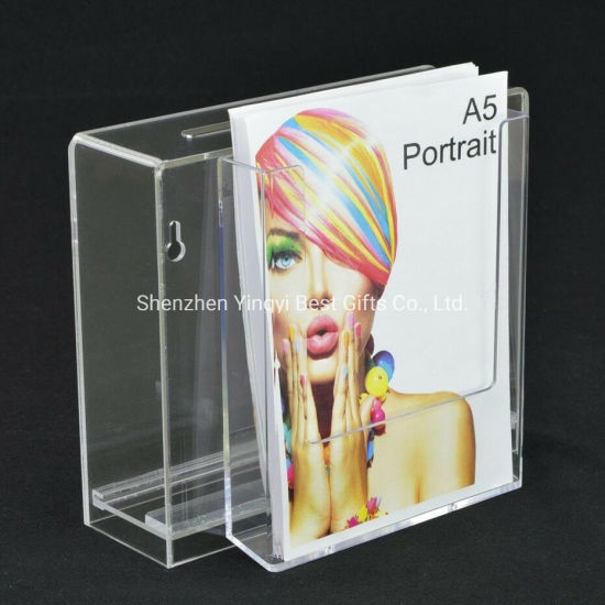 Wholesale Acrylic Donation Box/ Suggestion Box / Ballot Box / Charity Box pictures & photos
