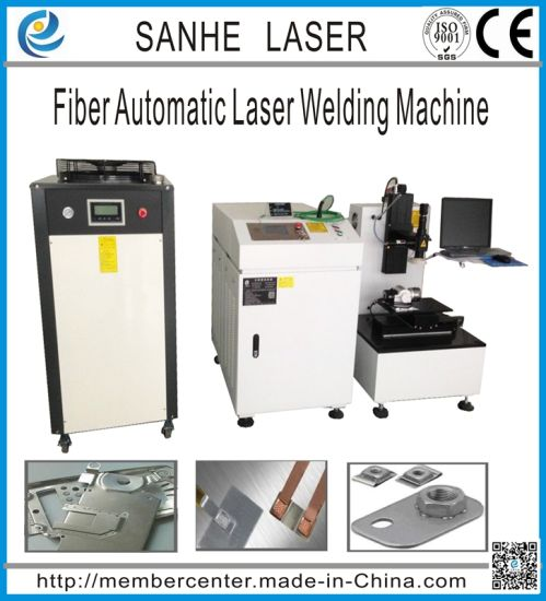 Fiber Automatic Laser Welder for Brass and Clock Precision Parts