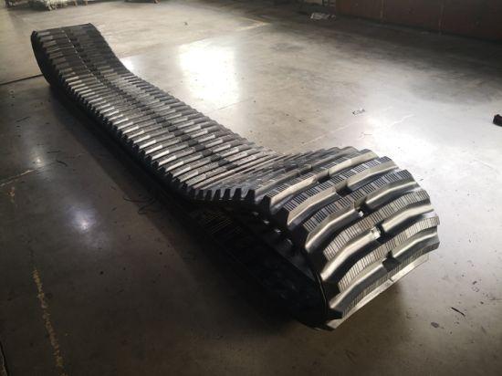 Rubber Track 700*100*98 for Alltrack At1500 FIAT Hitachi Cg65