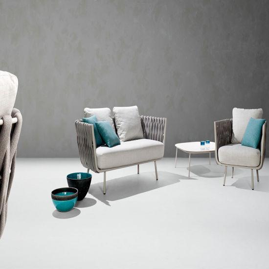 Elegant Patio Rattan Wicker Furniture Resin Outdoor Sofa Furniture