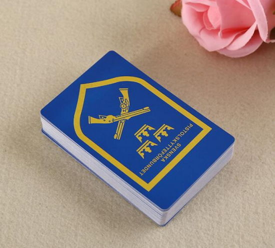 Custom Printing Cardboard Poker Paper Playing Cards for Promotion