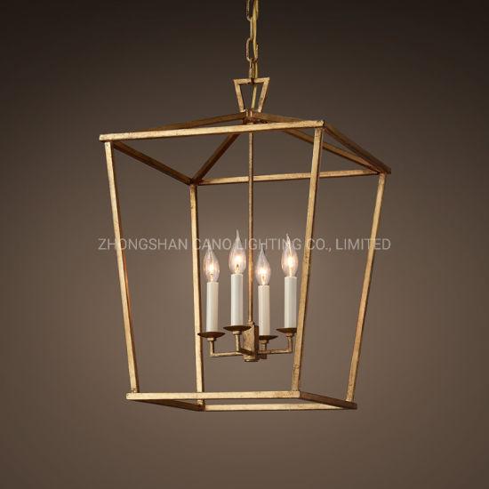 China Iron Frame Pendant Lamp, Chandelier Hanging Hardware