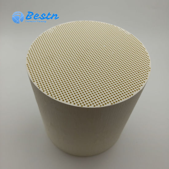 Cordierite Honeycomb Ceramic for Industrial Waste Gas Purification