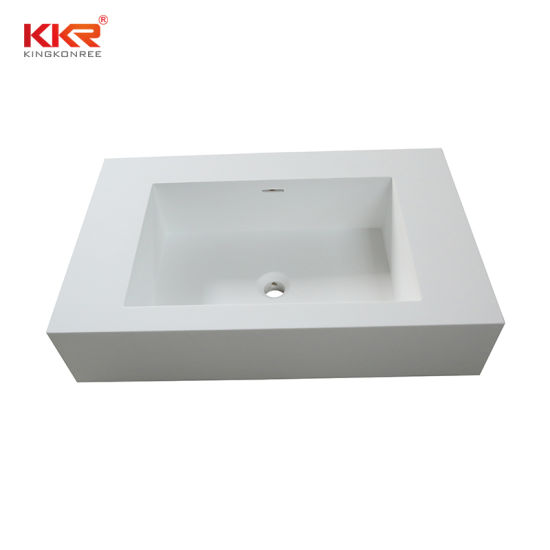 China Artificial Stone Double Bowl