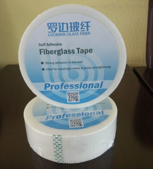 Reinforced Fiberglass Self-Adhesive Mesh Drywall Joint Tape