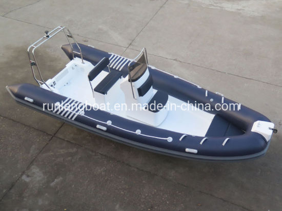 Wave Star 5.8m 19feet China Inflatable Boat Manufacturer Rib Boat