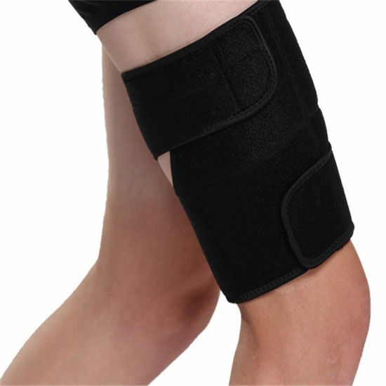 Wholesale Comfortable Neoprene Compression Sleeve Thigh Brace Support