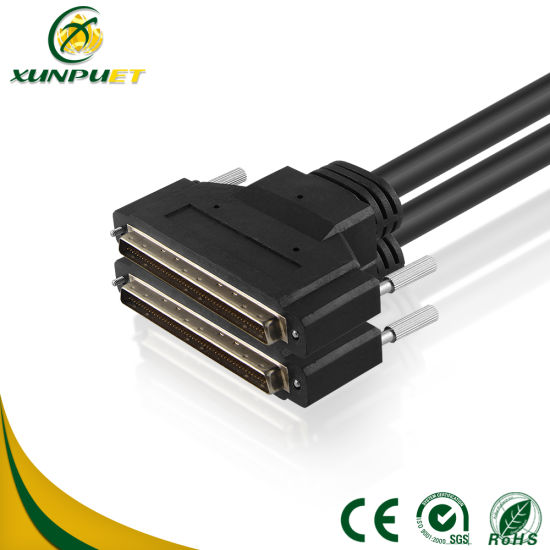China SCSI 100pin Custom Wire Connection Cable for Printers ...
