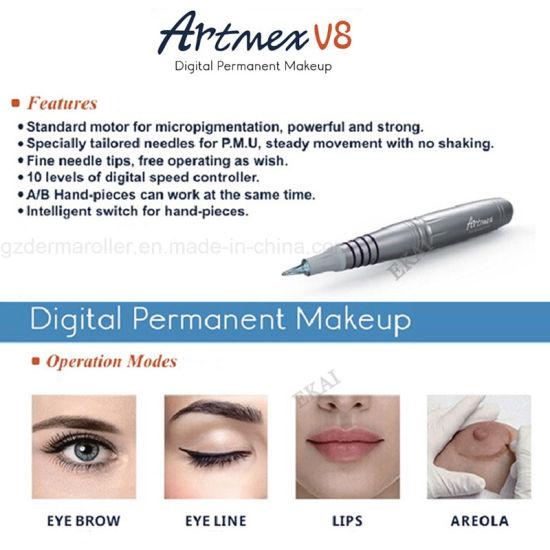 249f5d6af Digital Permanent Makeup Tattoo Pen, Semi Permanent Makeup Equipment  Needles pictures & photos