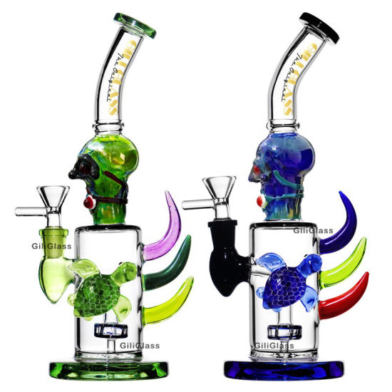 Giliglass 11.8 Inches Heady Glass Water Pipe DAB Rig