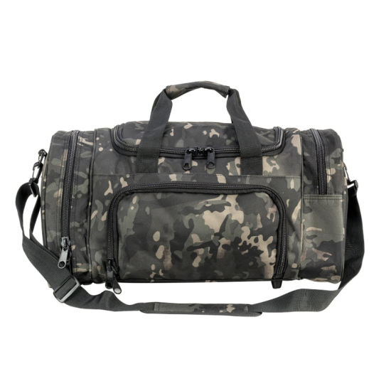 Camo Military Tactical Duffle Bag Gym Travel Hiking & Trekking Sports Bag with Shoes Compartment