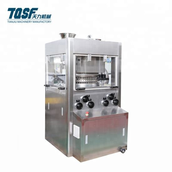 Hszp-43 10mm Diameter Rotary Tablet Press with Pre-Press Function