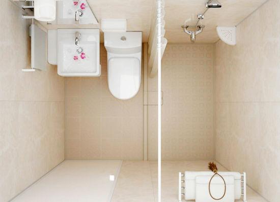 Customized Portable Prefab Bathroom Pod All in One Shower Room