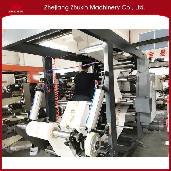 Zhuxin Brand Two Color High Speed Flexo Printing Machine