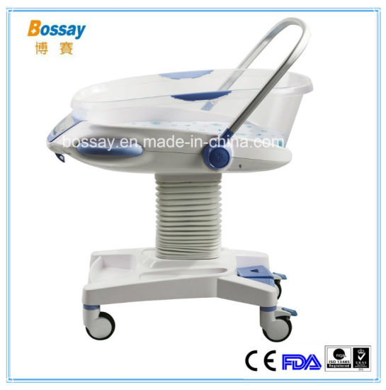 Adjustable ABS Hospital Infant Baby Cot
